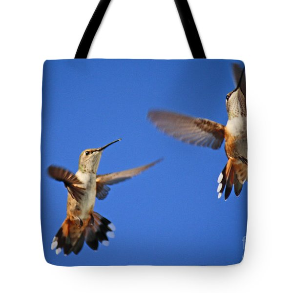 Air Dance Tote Bag
