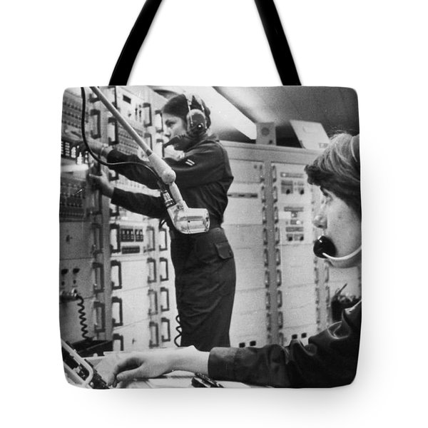 Air Force Crew, 1978 Tote Bag by Granger