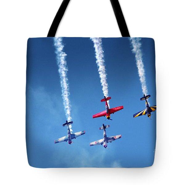 Air Show Tote Bag by Carlos Caetano