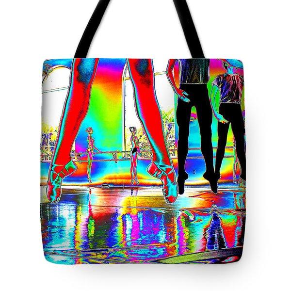 Airborne Elegance Tote Bag