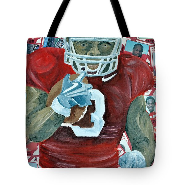 Alabama Running Back Tote Bag by Michael Lee