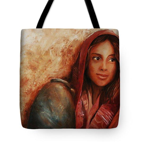 Alabaster Tote Bag by Jun Jamosmos