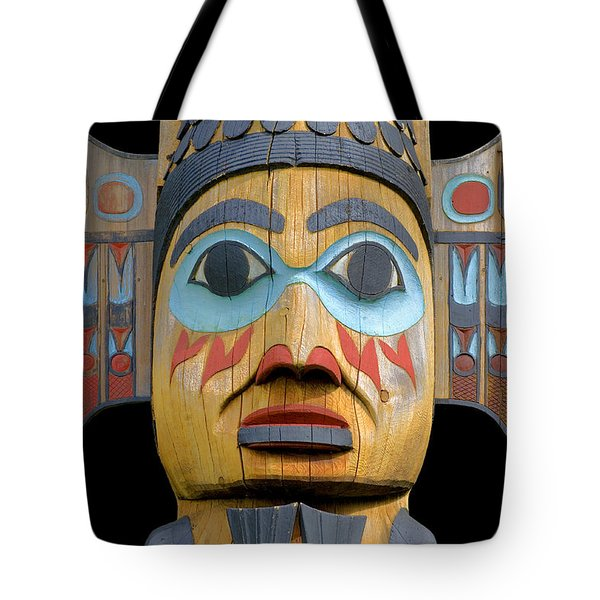 Alaska Totem Tote Bag