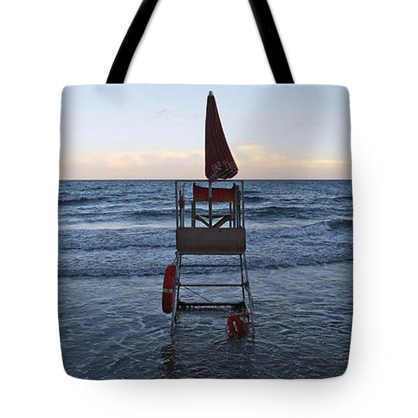 Alassio Sunset Facing East Tote Bag