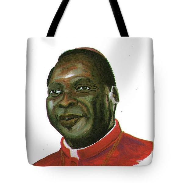 Albert Ndongmo Tote Bag by Emmanuel Baliyanga