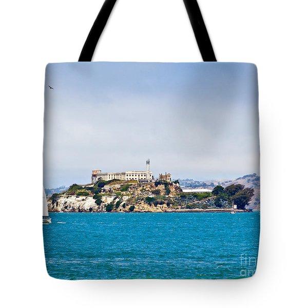 Alcatraz - San Francisco Tote Bag