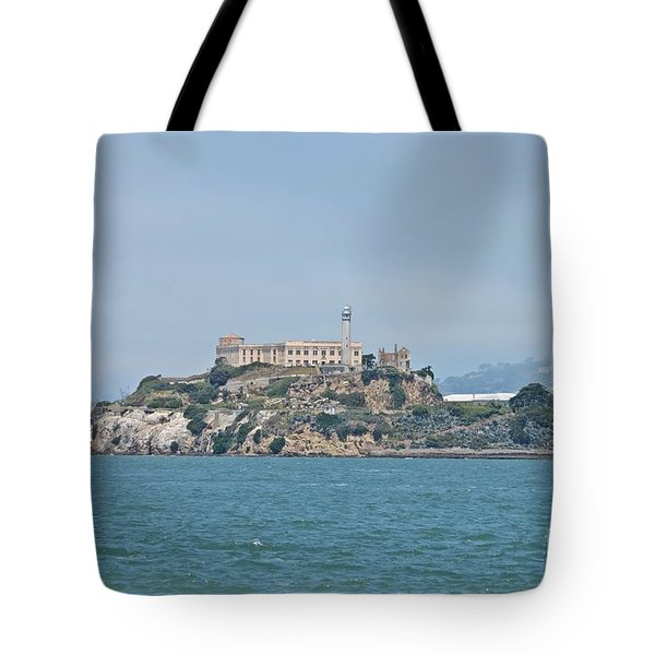 Alcatraz Island Tote Bag by Cassie Marie Photography