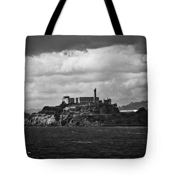 Alcatraz Tote Bag by Ralf Kaiser