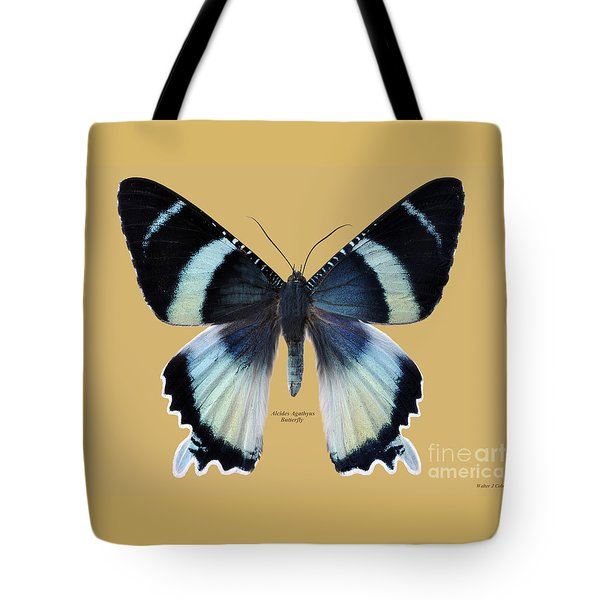 Alcides Agathyus Butterfly Tote Bag