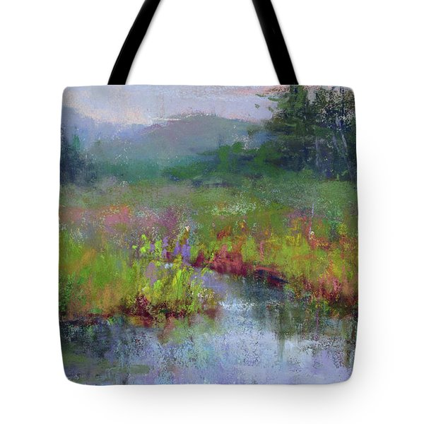 Alder Meadow Morning Tote Bag