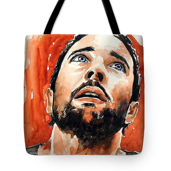Alex O'loughlin Tote Bag by Francoise Dugourd-Caput