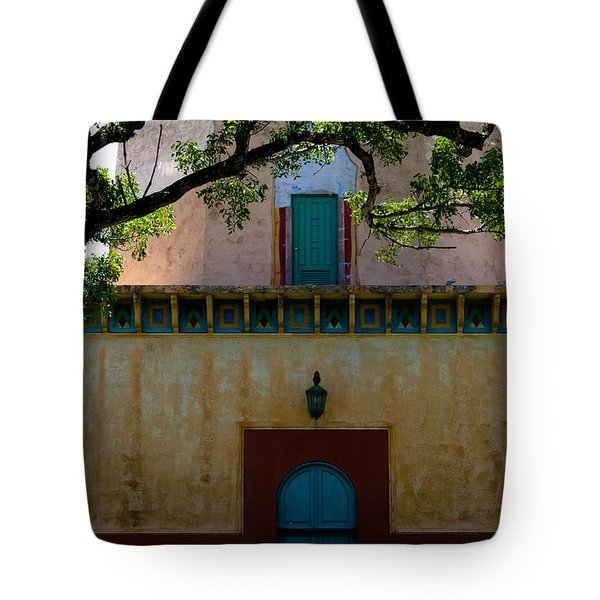 Alhambra Water Tower Doors Tote Bag