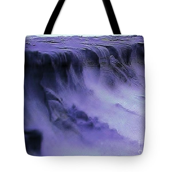 Tote Bag featuring the photograph Alien Landscape The Aftermath by Blair Stuart