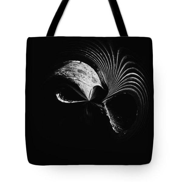 Alien Mask Tote Bag by Skip Nall