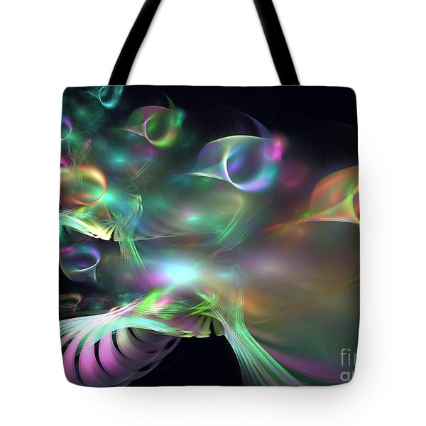 Alien Shrub Tote Bag by Kim Sy Ok
