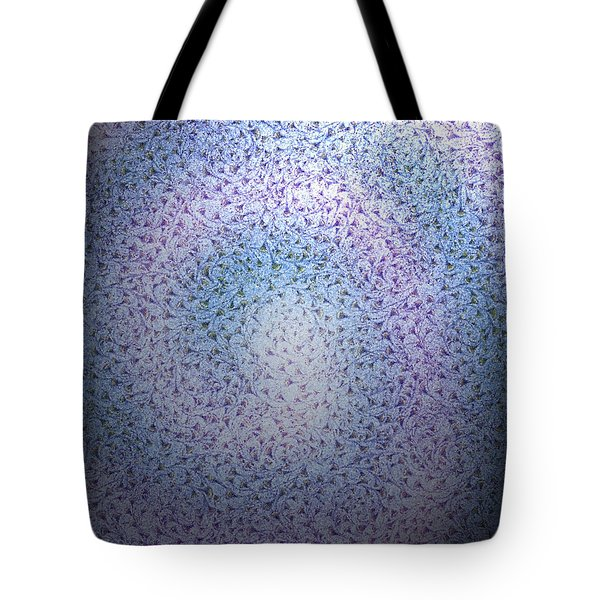 Tote Bag featuring the digital art Alien Skin by George Pedro