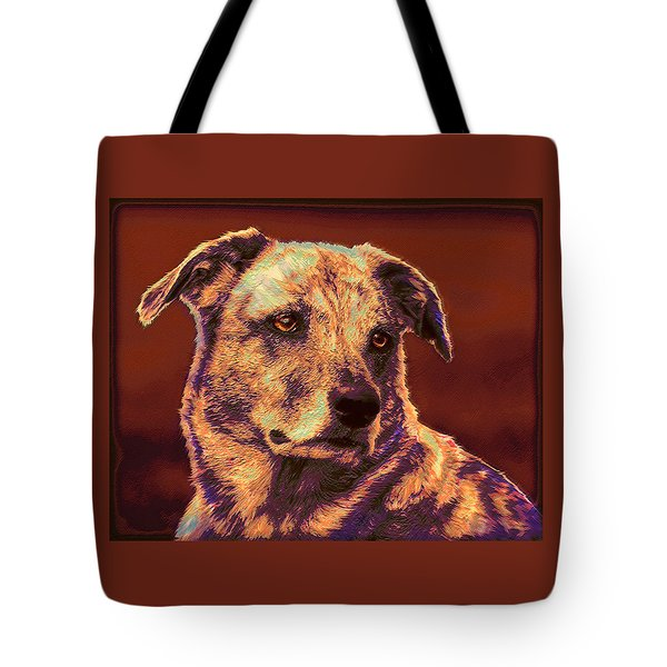 All American Mutt 2 Tote Bag by Jane Schnetlage