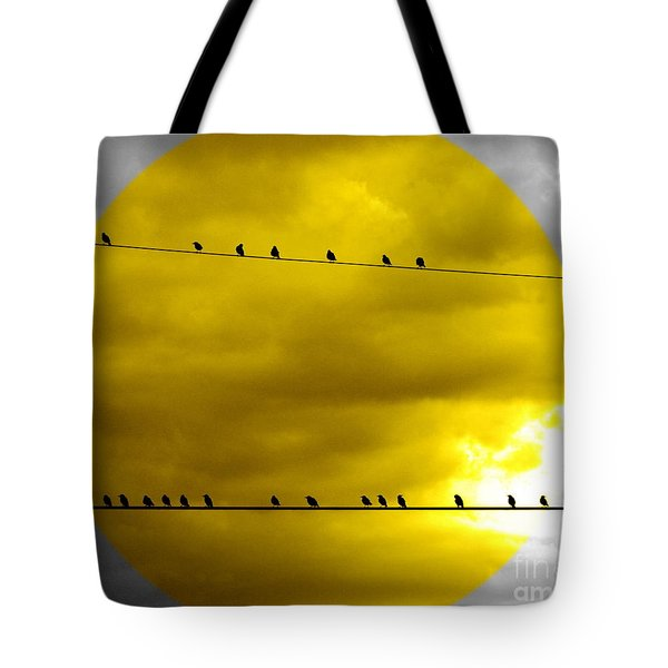Tote Bag featuring the photograph All Around The World by France Laliberte