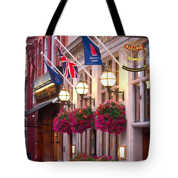 All Dressed Up For The Olympics.  Tote Bag by Shirley Mitchell
