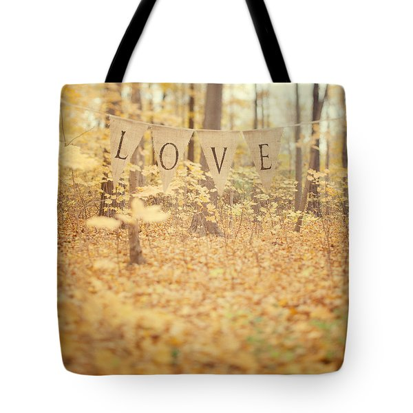All Is Love Tote Bag by Irene Suchocki