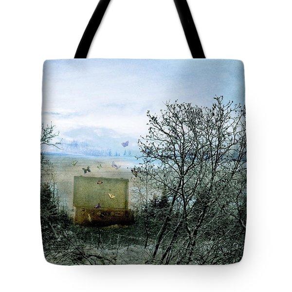 All My Precious Secrets Tote Bag by Michele Cornelius