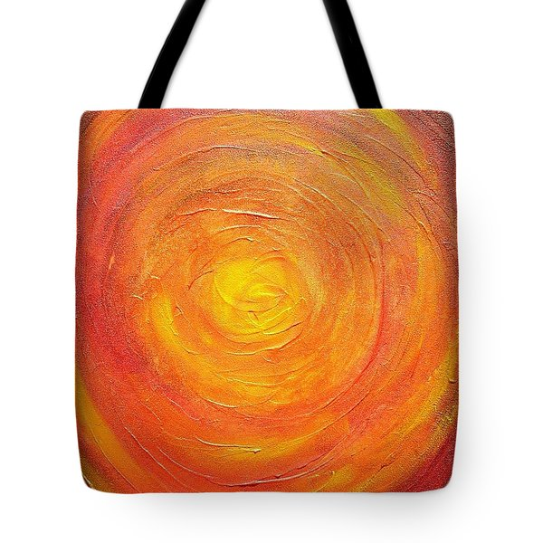 Tote Bag featuring the painting All That Glitters by Mary Kay Holladay