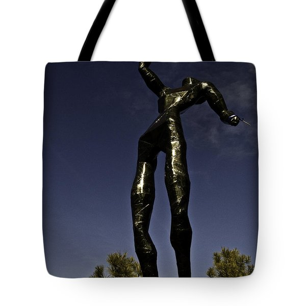 Tote Bag featuring the photograph All Wounded Warriors  by Larry Depee