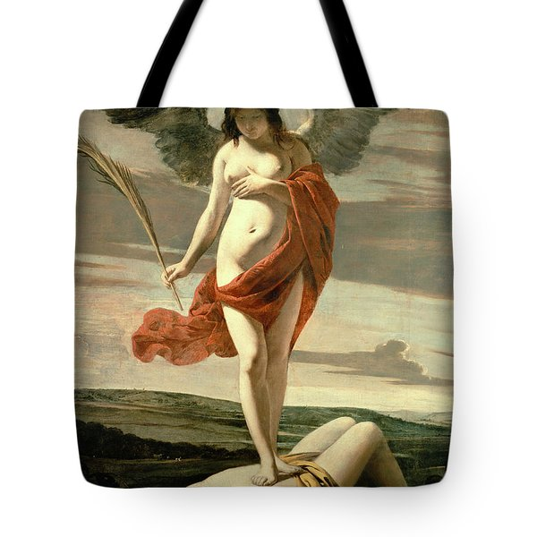 Allegory Of Victory Tote Bag by Louis Le Nain