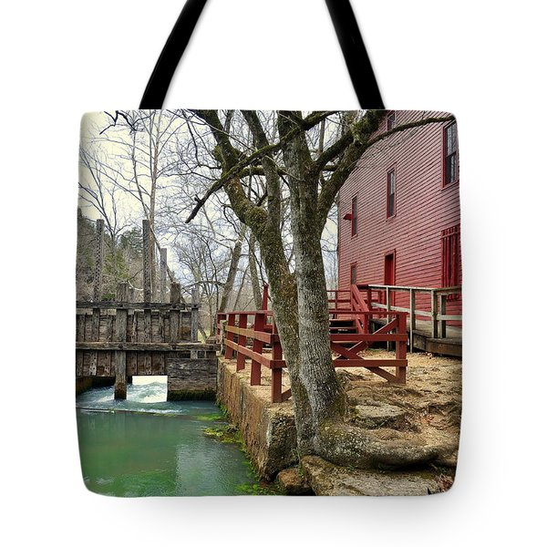 Tote Bag featuring the photograph Alley Spring Mill 34 by Marty Koch