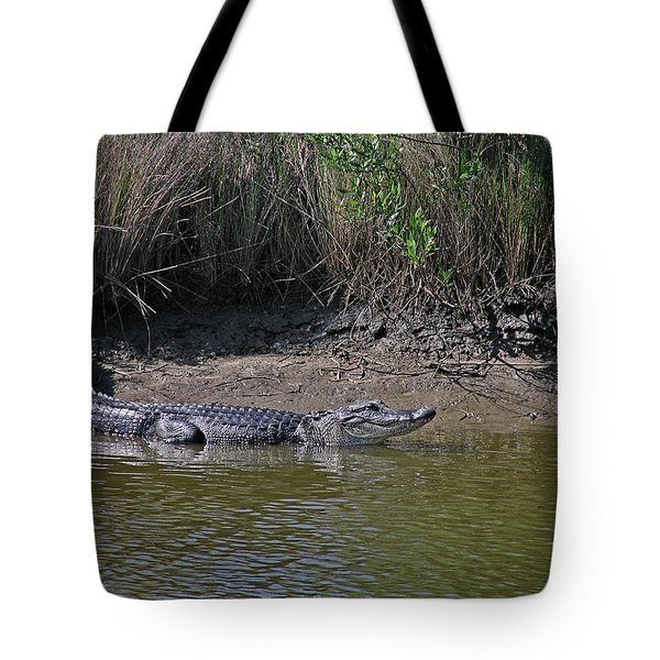 Alligator Tote Bag