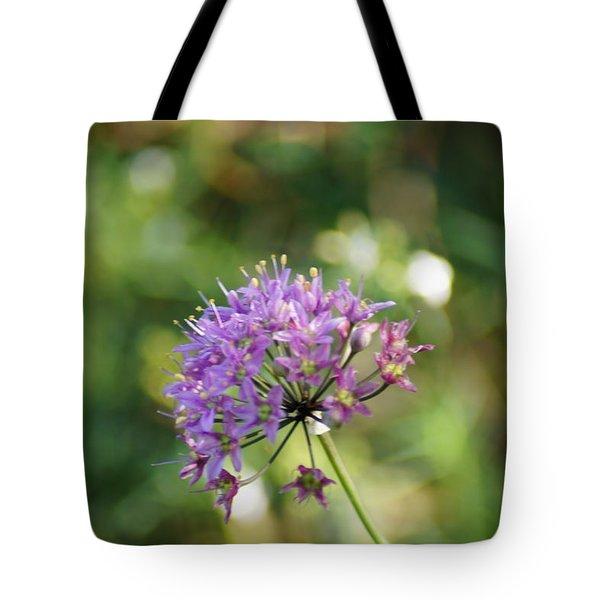 Allium Stellatum Tote Bag