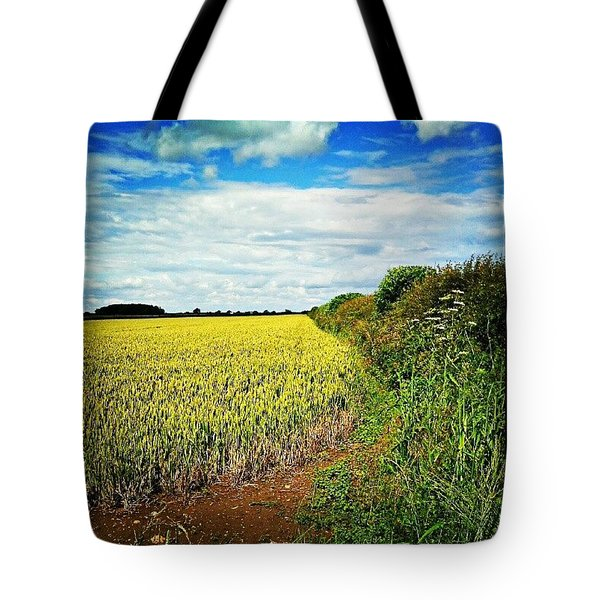 Almost Like A Summers Day Tote Bag