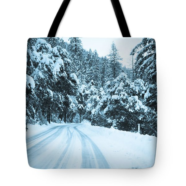 Almost There Tote Bag by Heidi Smith