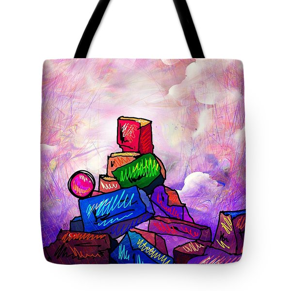 Almost There Tote Bag by Rachel Christine Nowicki
