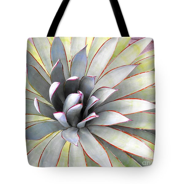 Tote Bag featuring the photograph Aloe by Rebecca Margraf