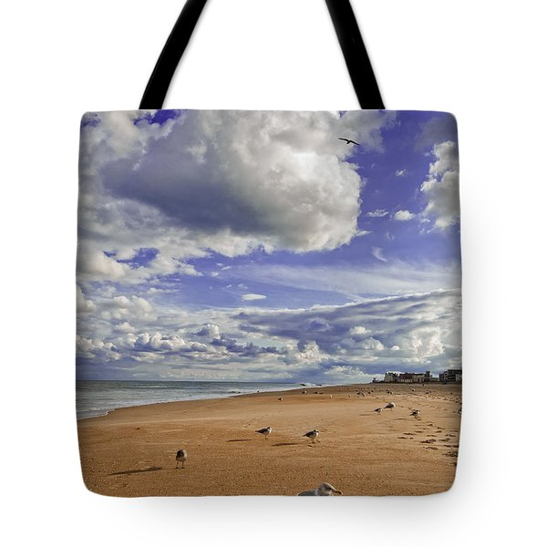 Tote Bag featuring the photograph Alone At Last by Jim Moore