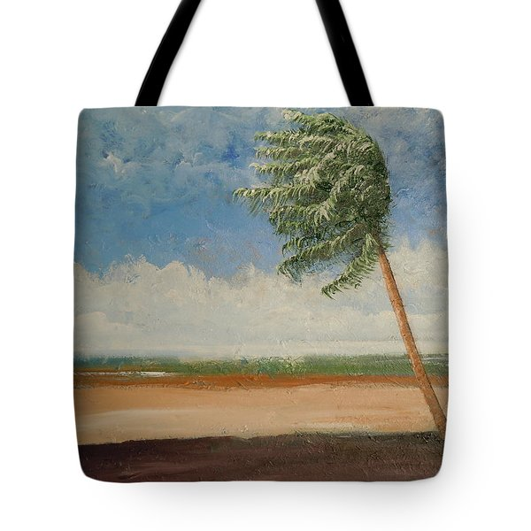 Alone In Paradise  Tote Bag by Dan Whittemore
