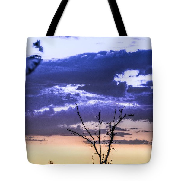 Tote Bag featuring the photograph Alone by Marta Cavazos-Hernandez