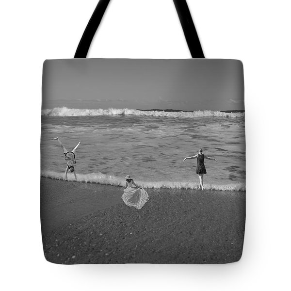 Along Each Wave Tote Bag