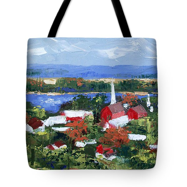 Along The Missouri  Tote Bag by Anthony Falbo