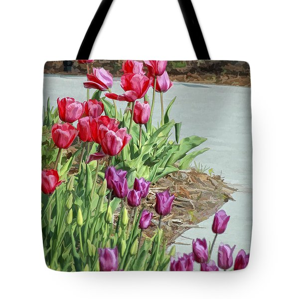 Along The Path Tote Bag by Billie-Jo Miller