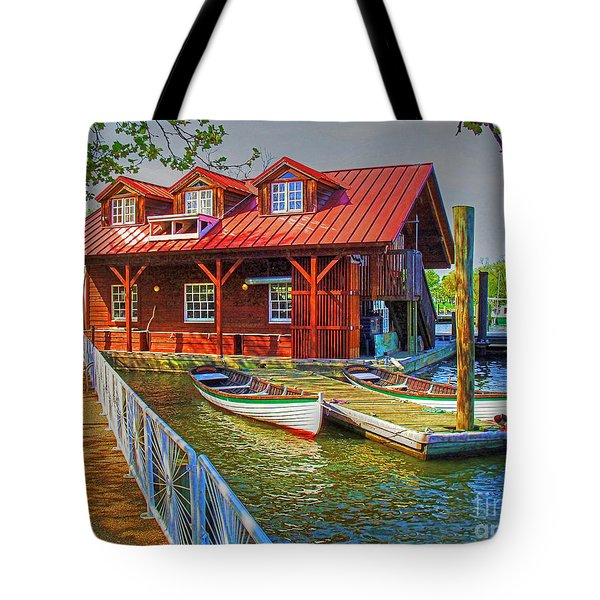 Along The Potamac Tote Bag