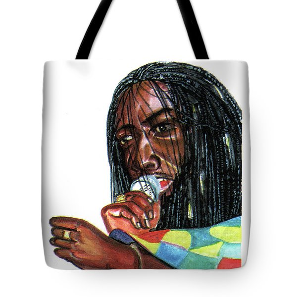 Alpha Blondy Tote Bag