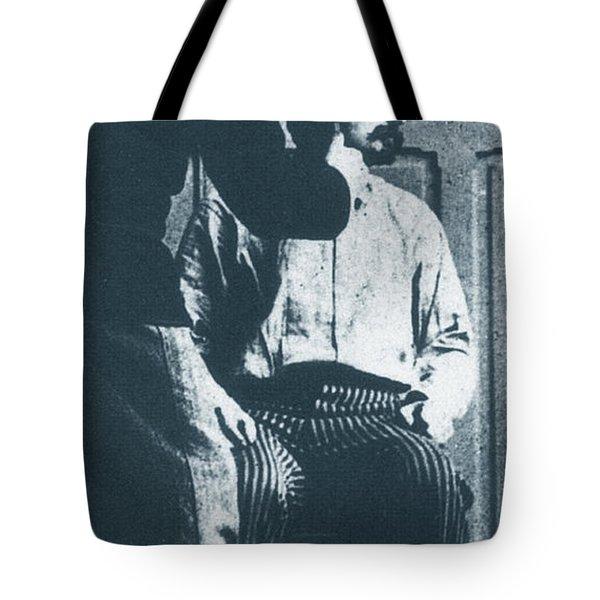 Alphonse Bertillon, French Biometrician Tote Bag by Science Source