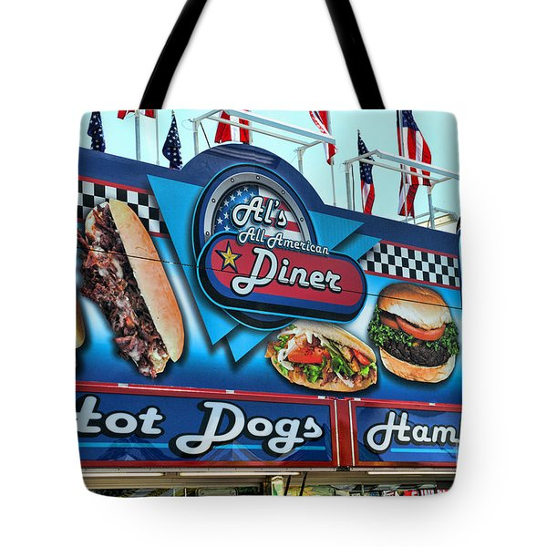 Al's All American Diner Tote Bag by Paul Ward