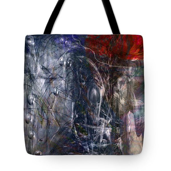 Altered Second Movements Tote Bag by Linda Sannuti