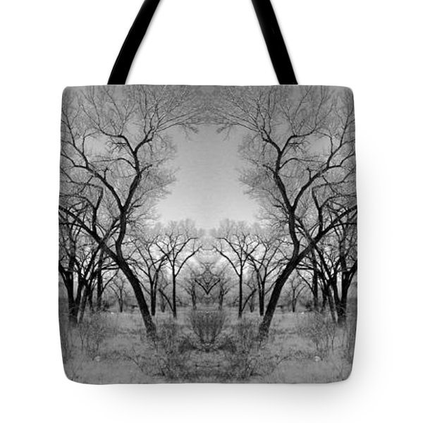 Altered Series - Bare Double Tote Bag by Kathleen Grace