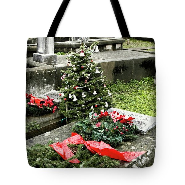 Tote Bag featuring the photograph Always Home For Christmas by Lorraine Devon Wilke