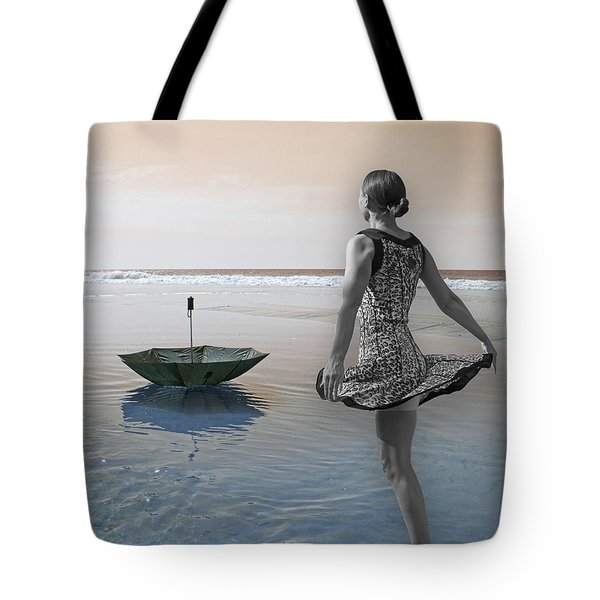 Always Looking To The Light Tote Bag by Betsy Knapp