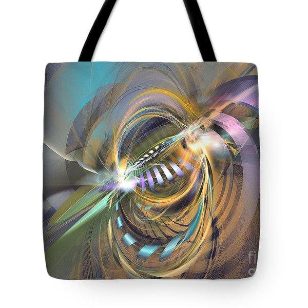Amadeus - Abstract Art Tote Bag